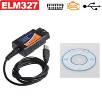 ELM 327 V1.5 OBD 2 Interfaccia USB ELM327 CAN-BUS Scanner Tool diagnostico Cable Codice di sostegno OBD-II protocolli diagnostici-tool