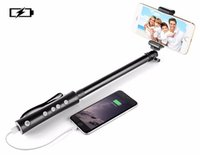 Wholesale Handy Power - Selfie Monopod Stick with Powerbank 3 in 1 Scope Bluetooth Handheld Power Bank and Handy LED flashlight Torch in grip supports IOS Android