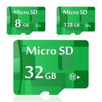 Wholesale 16 Gb Micro Sd Cards - Real Capacity Green Micro SD Card 64GB 32GB 128GB 16GB 8GB 4GB 2GB 1GB 128MB Memory Card 16 gb 8 gb TF Card