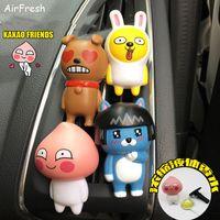 Wholesale Panda Car Perfume - Cute cartoon panda Air Freshener Perfume Diffuser for Auto Car perfume Car Air Freshener Diffuser Fresh air