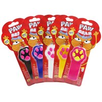 Wholesale Toy Trains Drop Shipping - Potable Footprint Cat Stick Laser Cat Play Wand Stick Fun Interactive Pet Toy Pet Supplies Perfect For Training Multi Colors Drop Shipping