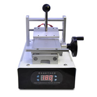 Wholesale Oca Remover - 110V 220V OCA Glue Remove Machine Polarizer Remover for Mobile Phone LCD Screen Repair Refurbish with Moulds