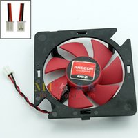 Wholesale Graphics Cards Ati - Free shipping ATI Firstdo FD5010U12S 12V 0.22AMP Cooling Fans for AMD Graphics card Fan