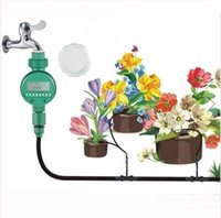 Wholesale Timer House - Free Shipping !!! Intelligent Automatic Flowers Watering Timer House Garden Water Timer Your Best Choice Pefect Garden Helper