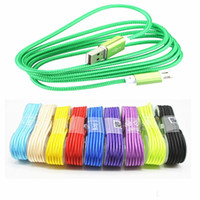 Wholesale Data Sync Cable Long Iphone - long type-c type C Micro USB phone data sync power fast charging wire rope line cord cable for Huawei Samsung