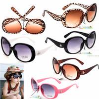 Wholesale Baby Girls Glasses - Fashion Kids Child Sun Glasses Baby Boys Girls Kids Sunglasses Child Goggles Googles Glasses 24 p