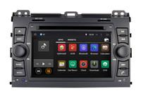 Wholesale toyota prado car stereo - Android 7.1 Car DVD GPS Navigation for Toyota Prado 2002 2003 2004 2005 2006 2007 2008 2009 with Radio BT USB Video