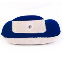 Wholesale Inflatable Travel Neck Cushion - travel ware Inflatable Soft Neck Head Rest Air Cushion U Shape Pillow Support Flight Travel travel speaker