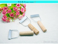 Wholesale Small Wooden Planes - Small pull pull wooden handle small plane planer planing leather knife planing fruit melon planing Yangjiang small plane pulling