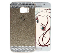Wholesale samsung galaxy grand prime back case for sale - Luxury Bling Glitter Diamond Rhinestone Hard Plastic PC Back Cover For Samsung Galaxy S5 S6 Edge A3 A5 A7 Note Note5 Grand Prime G530