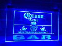 Wholesale Corona Beer Signs - LA418b- Corona Bar Beer Extra LED Neon Light Sign