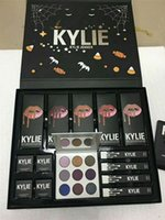Kylie Fall Collection Jenner Lip kit Líquido Lipstick lipgloss sombra de ojos power big box purple palette high light Regalo de navidad DHL ship