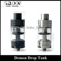 Wholesale Drip Drop - Original SMOKJOY Demon Drop RDTA Atomizer 4ml Top Refilling Sub Ohm Tank Rebuidable Dripping Tank Hot Sale