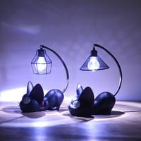 Wholesale Resin Ornaments - Zakka magic cat grocery Nightlight Home Furnishing creative resin handicraft ornaments