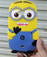 Wholesale Cell Phone Cases Minions - Cartoon Case Lumia 535 3D Silicone Despicable Me 2 Minions Cell Phone Back Cases Cover For Microsoft Nokia Lumia 535