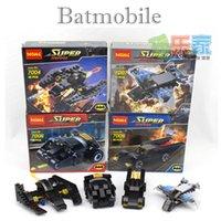 Wholesale Batman Batwing - Superhéroe vehículos Batman Batmobile el vaso del Batwing capitán américa Marvel módulos previstos juguetes Compatible con Legoes