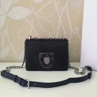 Wholesale Cell Phone Crystals Cover - 2016 diorama club new autumn and winter horse with sheepskin diamond crystal buckle fashion mini lady chain Cross Body brand handbags
