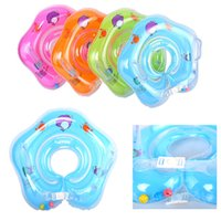 Venda Por Atacado Hot Swimming Baby Toddler Acessórios Neck Ring Tube Safety Infant Float Circle para banho inflável Dolphin Water Pool Toy Fun