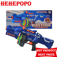 Wholesale 2017 The Latest Fashion Children s Funny Toy Soft Bullets Electric Repeating Gun Rifle Shoot Fire Weapon Toys Kids Gift