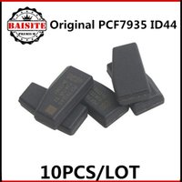 Wholesale Transponder Chip For Honda - 100% Original 10pcs lot ceramic pcf7935 transponder chip id44 id 44 pcf7935as transponder chip free shipping hot sales