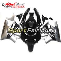 Wholesale Honda F3 96 - Motorcycle Injection Fairings For Honda CBR600F F3 95 96 1995 1996 ABS Plastic Fairing Kit Bodywork Fitting Black Sliver New Cowling
