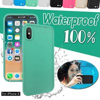 Wholesale Swim Full Body - Waterproof 100% Sealed Full Body 360 Degree Screen Protect Swimming Soft TPU Cover Case For iPhone X 8 7 Plus 6 6S SE 5S 5s 5 Samsung S7