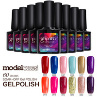 Wholesale Cheap Gel Nails - Modelones 10pcs UV Nail Gel Polish UV Led Shining Colorful 10ml Long Lasting Soak off UV Nail Gel Cheap Manicure