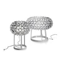 acrylkugeln kronleuchter großhandel-Foscarini Caboche Ball Tischlampen LED Kronleuchter Licht von Patricia Urquiola + Eliana Gerotto, transparentes Acryl Ball Nachtlicht