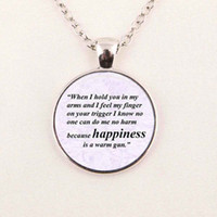 Wholesale Photo Beatles - Wholesale Jewelry Quote Necklace the beatles necklace All you need is love pendant Glass Photo Cabochon
