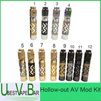 Multi order patterns - Hollow out AV Mod Kit October New Mech Mod Rogue Mechanical Mod Pattern Min orders units
