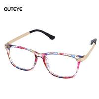 Wholesale Wholesale Geek Eyeglass Frames - Wholesale-9 Color Hot optical myopia glasses clear lens eyewear nerd geek glasses frame brand sun shade eyeglasses frames for men women W1