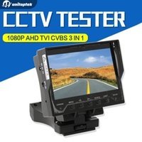 """Wholesale Tft Lcd Touch Controller - 7 inch Touch Screen CCTV IP CVI Analog Camera Tester ,Video Record, Utp Cable Scan, WIFI Ping Test+PTZ Controller+POE Out4.3"""" TFT LCD"""