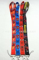Expédition gratuite The Lanyard League Avengers Key of spider-man cou portable sangle grossiste