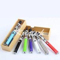 Wholesale Dhgate Ego Batteries - Vape Pen Box Starter Kit eGo Vaporizer 650mah 900mah UGO batteries No Leaking 1453 Coil Clearomizer Gift Box Starter Kit on DHgate