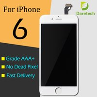 Wholesale iphone touch screen digitizer glass for sale - Group buy For iphone front glass Grade A LCD Display Touch Digitizer Complete Screen with Frame Full Assembly Replacement