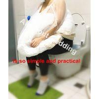 Wholesale Bathroom Balls - Bride's Buddy Save You From Toilet Water Bridal Bathroom Helper Bridal Wedding Buddy Friend Dress Slip Gather Skirt
