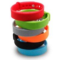 Wholesale Male Slave - IN STOCK 100% Original Smart Bracelet Waterproof Tracker Fitness Wristband Pedometer Calories Sleep Monitor bracelet slave