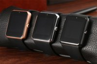 sincronização bluetooth venda por atacado-Smart watch relógio sincronização notifier apoio sim tf cartão bluetooth smartwatch para apple android phone