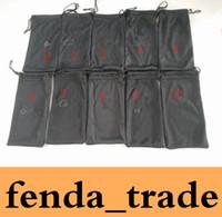 logo seçenekleri toptan satış-Siyah çanta için Güneş Gözlüğü LOGOSU çanta Marka SıCAK SATıŞ kaliteli Fabrika Fiyat 10 renkler seçenekleri normal takım için uygun ADEDI = 50 adet Hızlı Gemi