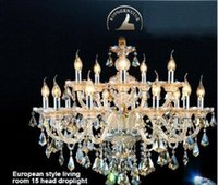 Wholesale Modern Crystal Chandelier Home Lighting lustres de cristal Decoration Tiffany Chandeliers and Pendants Living Room Indoor Lamp