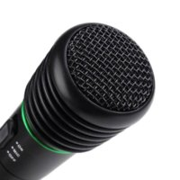 Wholesale Handheld Fashion - Top Quality New Fashion Wired or Wireless 2in1 Handheld Microphone Mic Receiver System Undirectional JAN 27