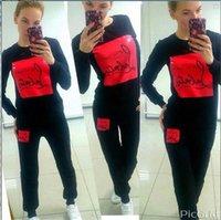 Wholesale Women Jogger Pants Shorts - YONO New Fashion Women Tracksuits Autumn Hoodie Set Joggers Pullovers Casual Tracksuits 2 pcs Sweatshirt+Pants 4 Colors Hot