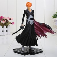 bleach gift boxes - Japanese Anime BLEACH ichigo PVC Action Figure Toy Doll Xmas Gift for kids Gift approx cm with box