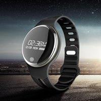 E07 OLED Display Bluetooth Smart Watch IP67 Wasserdicht Smartband Sleep Monitor Smart Armband für IOS Android Phone