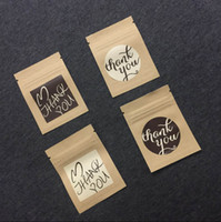 Wholesale Wholesale Wood Craft Products - 4.2x4.2cm Thank you lable Sticker paper DIY baking products sealing sticker for Cards Jewelry Box Gift Bake Package sticker 100pcs