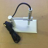 Wholesale Usb Pen Video Camera - All metal 1- 600x Zooming 2MP HD USB Digital 8 LED Electronic Video Camera Electron Pen Endoscope Magnifier for Circuit Repair