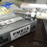 Wholesale Ngk Plugs - Brand (4X) PMR7A 4259 New brand NGK Laser Platinum Spark plug 7692 MR8AI9 MR8AI-9 euqal to 4259 PMR7A PMR8B MADE IN Japan