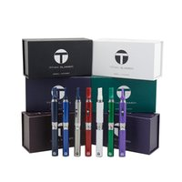 Wholesale Slim Tank Pro - T Titan Slimmer Vaporizer Pen 650mAH Battery Snoop Dogg g pro vapor starter kit Dry Herb E Cigarettes with Herbal Tank 7 Colors