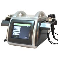 Wholesale Slimming Machine Vaccum - Multifunction RF 5MHz Bipolar RF Tripolar RF 40KHz Ultrasonic Cavitation Slimming Machine Strong Vaccum 1Mhz Supersonic Cavitation For Face
