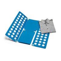 Wholesale Garments For Kids Wholesale - Clothes Folding Board Magic Fast Speed Folder Multi Functional Shirts Folding Board for Kids Children Garment ZA1307